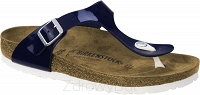 Birkenstock Gizeh granatowy (dress blue) wąski 1005302