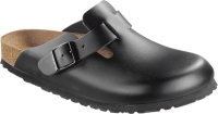 Birkenstock Boston soft czarny (black) wąski 060413