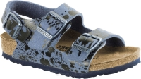 Birkenstock Milano niebieski we wzory (color sprays blue) wąski 1008275