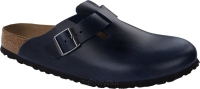 Birkenstock Boston soft  granatowy (blue) wąski 1013647