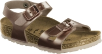 Birkenstock Rio miedziany (electric metallic copper) wąski 1012520