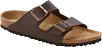 Birkenstock Arizona ciemnobrązowy (saddle matt brown VEGAN) szeroki 1018171