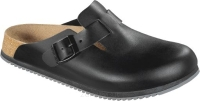 Chodaki Birkenstock Boston SL black szerokie 060194