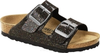 Klapki Birkenstock Arizona cosmic sparkle black multi wąskie 1017382