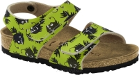 Birkenstock Palu zielony w morskie potwory (deep sea monster green) wąski 1012694
