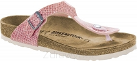 Birkenstock Gizeh różowy (magic snake rose) wąski 1009122