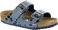 Birkenstock Arizona niebieski we wzory (colour sprays blue) wąski 1008309