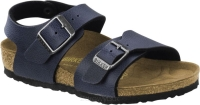 Birkenstock New York granatowy (pull up navy) wąski 1003355