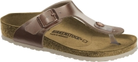 Birkenstock Gizeh miedziany (electric metallic copper) wąski 1012526